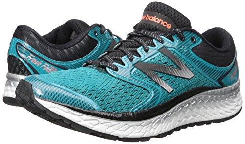 New Balance frais mousse 1080v7 Chaussures de course pour homme Pisces/Black niz21ijk3