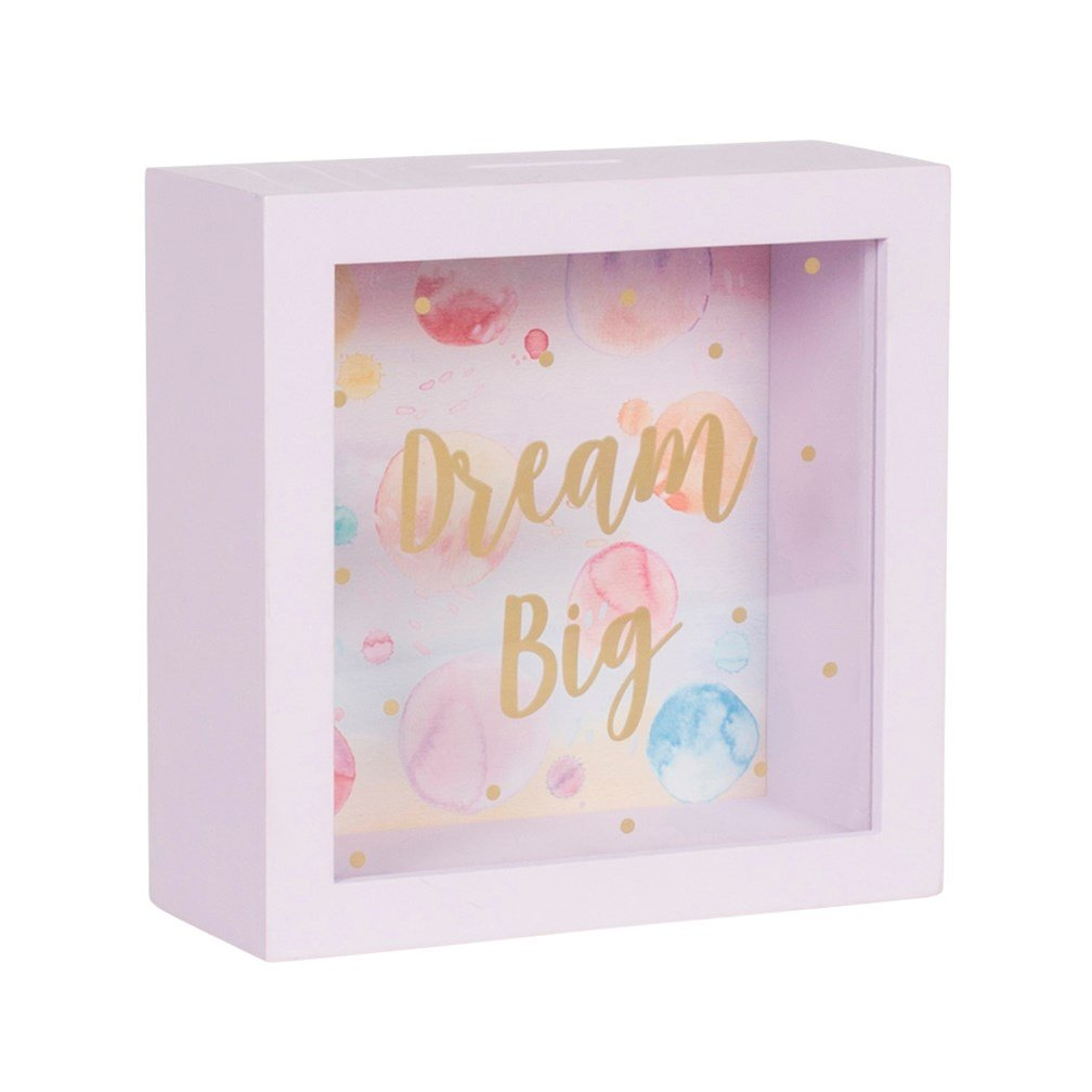 Sass and Belle Dream Big Paint Splash Money Box Sass & Belle