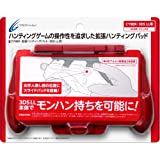 Cyber Monster Hunter 4 Expansion Pad for 3DS LL Red (Japan Import)
