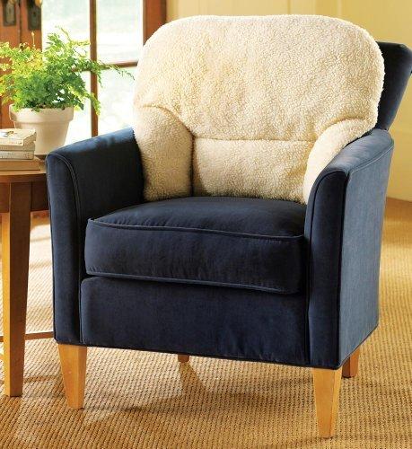 (Fleece Back Support Pillow)