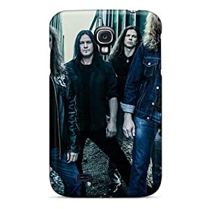 Bumper Hard Phone Covers For Samsung Galaxy S4 (BrJ20035znnr) Customized Vivid Megadeth Band Series