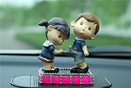 Buy Siyaful Presents Car Accessories Doll Which Is A Dashboard Mesmerizing Car Decoration Accessories India