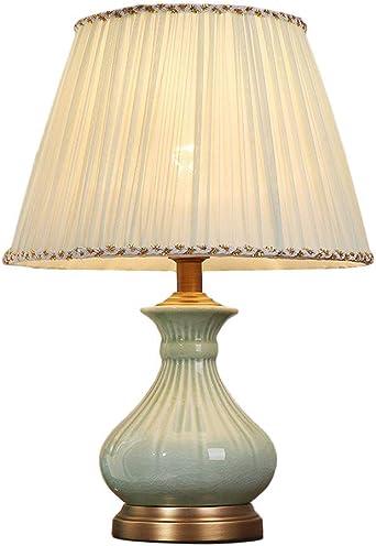 YINUO lámparas de mesa Lámpara de cerámica de mesa - estilo ...