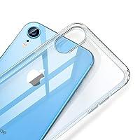 ESR Coque pour iPhone XR, Bumper Housse Etui de Protection Transparent en Silicone TPU Souple [Ultra Fin] [Ultra Léger] pour Apple iPhone XR (2018) 6,1 Pouces (Série Jelly, Transparent)
