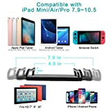 Tablet Arm Mount Stand Holder, Nintendo Switch Stand with Sturdy Aluminum Arm for iPad,iPad air,iphoneX,iphone 8/7,Samsung Galaxy