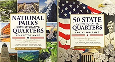 Quarters Collector's Maps Value Pack (Set of 2) - State Quarter Collection