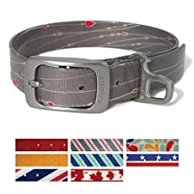 Kurgo Muck Collar Atomic Drop Collar Waterproof Dog Collar, Large