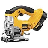DEWALT DC330K Heavy-Duty 18-Volt Ni-Cad Cordless Top Handle Jig Saw Kit Review