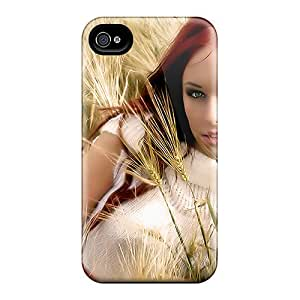 High Quality Lovely Woman Cases For Iphone 6plus / Perfect Cases
