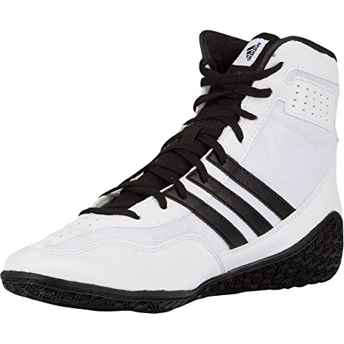 Adidas Mat Wizard.3 Lucha Zapatos, Colegiado Borgoña / negro / oro, 4 M con nosotros Blanco/Negro