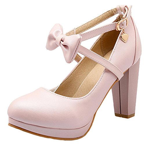 Confortables Chaussures Talons De Mariée Talon Femmes Escarpins Mariage Scothen forme Travailler Mesdames Sexy Fleurs Hauts Pompes fermoirs Pink Plate Pompes Hauts Partie escarpins wSnI5q7