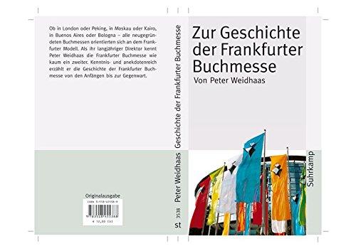 Zur Geschichte der Frankfurter Buchmesse (suhrkamp taschenbuch)
