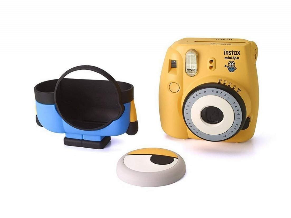 Minion Camera App : Buy fujifilm instax cute and compact minion body design mini