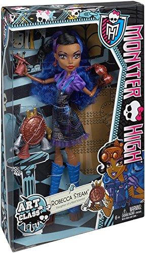 Monster High Art Class Robecca Steam Doll