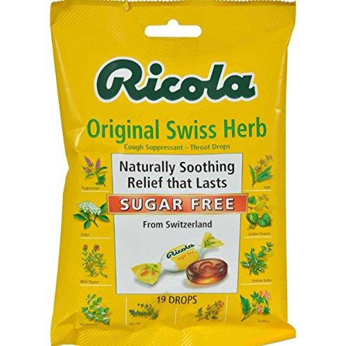 Ricola Mountain Throat Drops Sugar