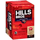 Hills Bros Coffee House Blend, 12 Compostable Single Serve Cups, 4.4 Ounce