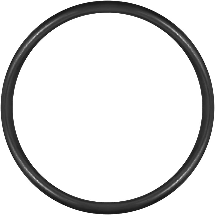 uxcell O-Rings Nitrile Rubber, 16mm Inner Diameter, 18mm OD, 1mm Width, Round Seal Gasket(Pack of 50)