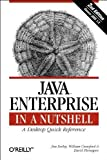 img - for Java Enterprise in a Nutshell (2nd Edition) by David Flanagan (2002-04-01) book / textbook / text book