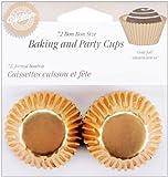 Wilton Gold Foil Bon Bon Baking Cups, Package of 75
