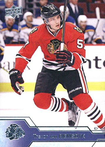 2016-17 Upper Deck Series 2 Hockey #294 Trevor van Riemsdyk Blackhawks (2016 17 Upper Deck Series 2 Hockey)