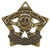 Soccer Medals (6-pk)