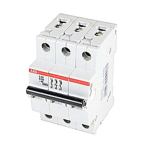 ABB S203-B50 CIRCUIT BREAKER, 3-P, 50A/480V for sale  Delivered anywhere in USA