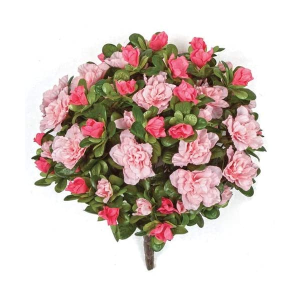 12-Inch-Azalea-Bush-Signature-Foliage-Pink-Rose-Light-Pink