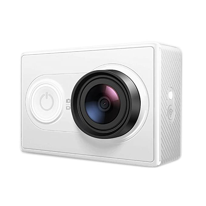 YI Z15 88001 2K 16 MP Action Camera  White  Action Cameras