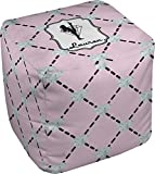 RNK Shops Diamond Dancers Cube Pouf Ottoman - 13'' (Personalized)