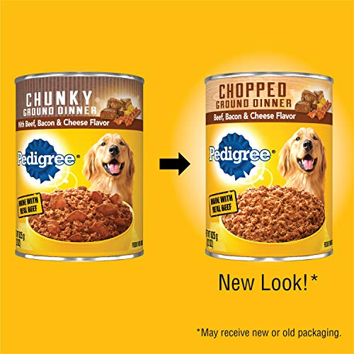 Pedigree Chopped Ground Dinner, Beef, Bacon & Cheese