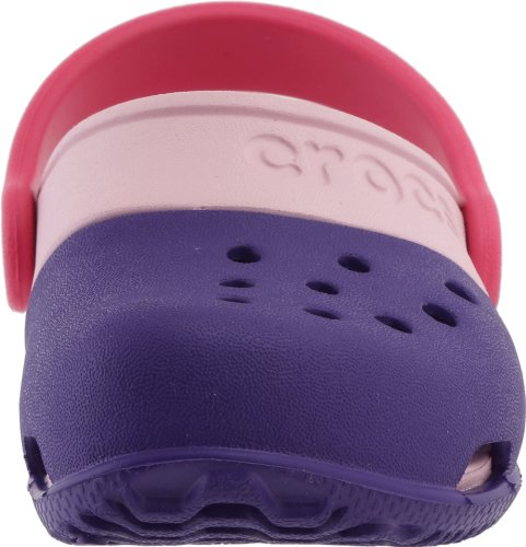 Crocs Electro II Clog K - Zuecos Unisex Ultraviolet/Bubblegum