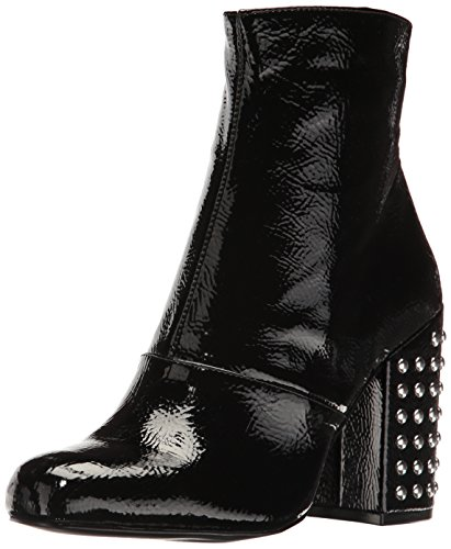 Steve Madden Women's Galley Ankle Bootie - Black Patent -...