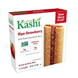 Kashi, Soft-Baked Breakfast Bars, Ripe Strawberry, Non-GMO Project Verified, 7.2 oz, 6 Count(Pack of 6)