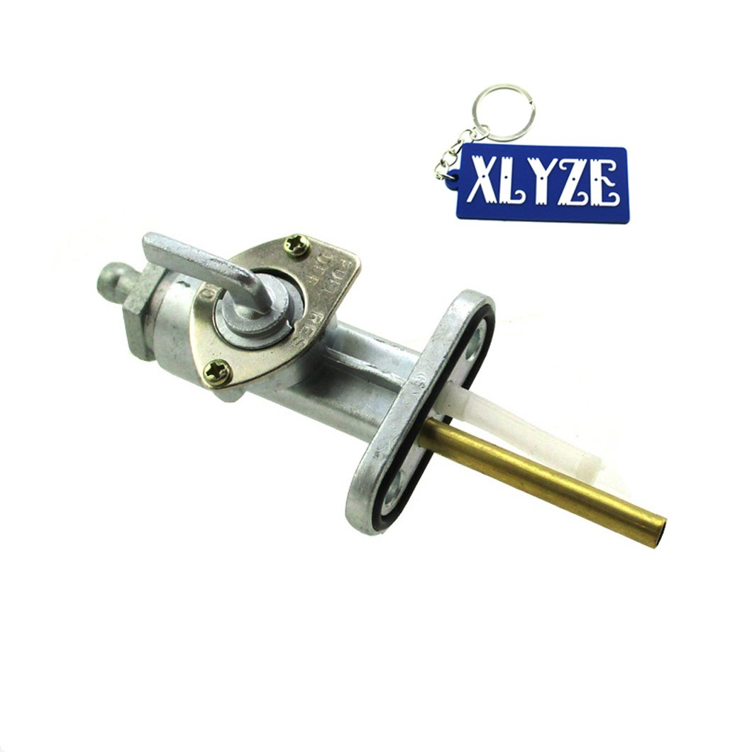 XLYZE Gas Fuel Petcock Switch Tap Valve for Yamaha AT1 AT2 AT3 CT1 CT2 CT3 DT1 DT100 DT125 DT175