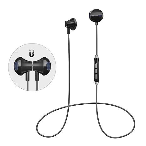 Auriculares Magnéticos Bluetooth GL09 (GL06 Negro)