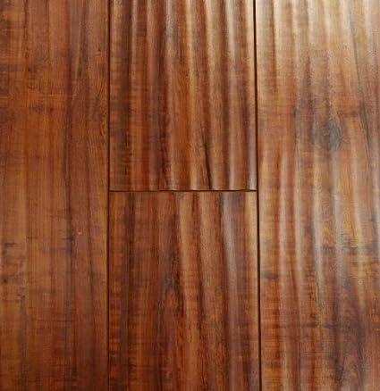 123 Mm Durique Distressed Laminate Hazelnut Flooring 6 Inch Sample