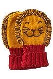 Joobles Organic Baby Mittens - Roar the Lion (0-6 Months)