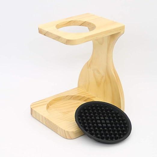 Soporte de madera para filtros de café, soporte para goteo de café ...