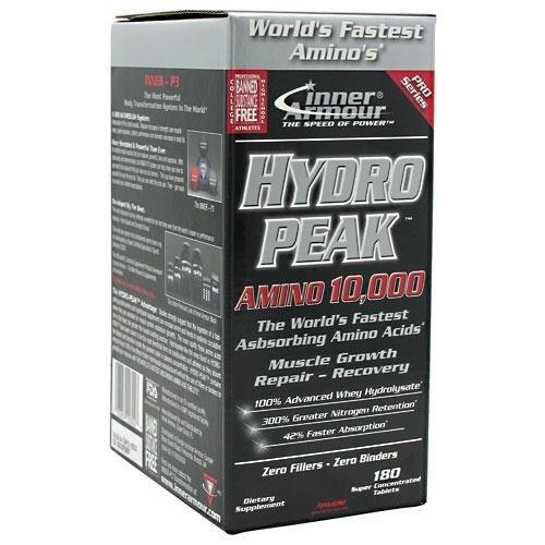 Inner Armour Hydropeak Amino -- 180 Tablets