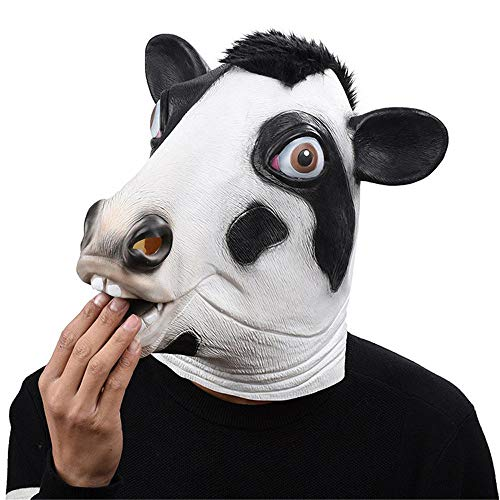 Fly Halloween Mask Christmas Ball Cow Styling Mask Party Mask Game Funny Party Supplies mask for $<!--$54.40-->