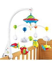 Nuby Musical Cot Mobile with Colour Changing Wall/Ceiling Starlight Projection