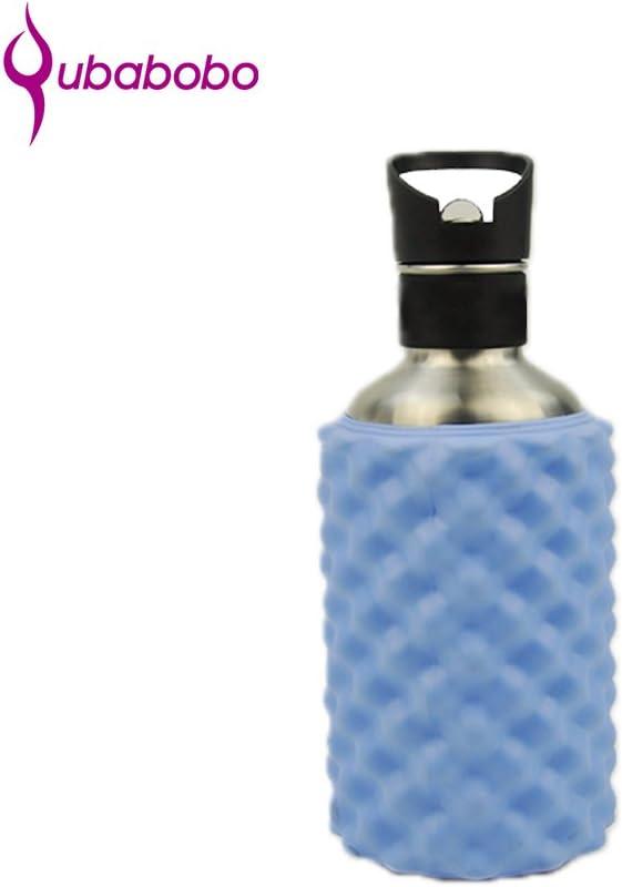 QUBABOBO 24-oz//41-oz 0.7L//1.2L Eco Friendly High Performance Indoor Gym Fitness Yoga Foam Roller Stainless Steel Massage Bottle