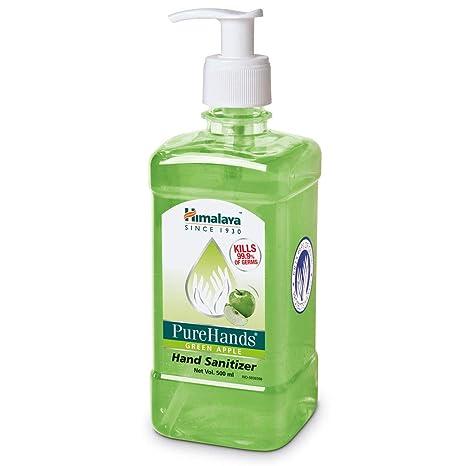 Buy Himalaya Purehand Sanitizers 500 Ml Green Apple Online At