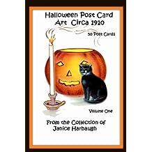 Halloween Post Card Art Circa 1910: Volume One