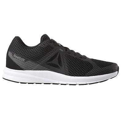63892d70ee Reebok Men's Endless Road Running Shoe, Black/True Grey/White, ...