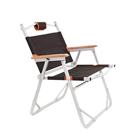 Amazon.com: LYS Silla plegable de ocio, silla plegable para ...