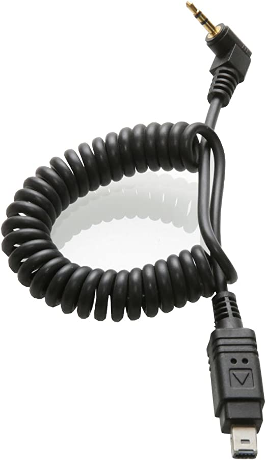 Release Connecting Cord Cable 2.5-DC2//N3 Shutter Cable Annjom Shutter Release Cable Lightweight Black for Nikon