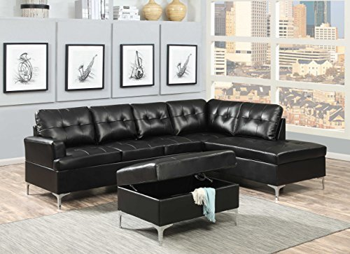 AC Pacific Mila Collection Contemporary 2-Piece Upholster...