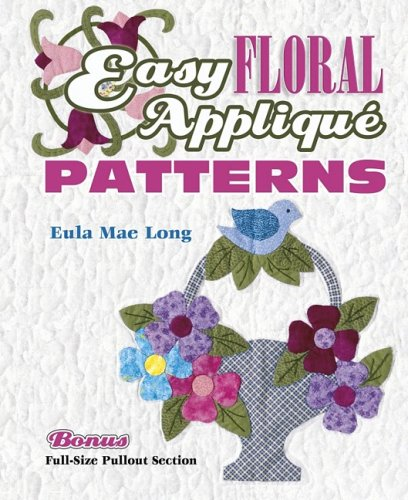 Easy Floral Applique Patterns - Applique Patterns Floral Easy