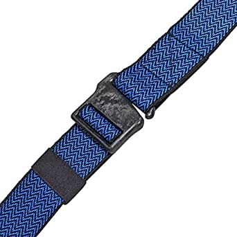 Abl B19 Performance Stretch Carbon Fiber Outdoor/Active/Travel Belt - Nonmetallic (41in Max Waist, PSI Ink/Sky Sawtooth)